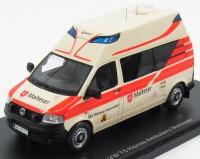 1:43 VW T5 Hornis Ambulance Malteser SEG Warendorf 2010