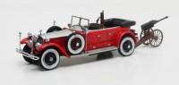 1:43 Rolls Royce Phantom Barker Torpedo Tourer Hrh Maharaja of Kota #23RC с охотничьим пулемётом 1925