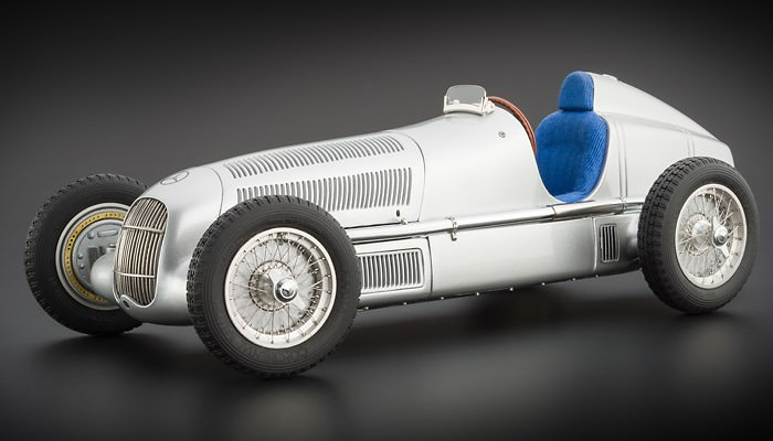 1:18 Mercedes-Benz W25, 1934 (silver)