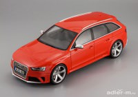 1:18 Audi RS4 Avant (red)