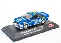1:43 OPEL Ascona 400 #11 A.Kullang/B.Berglund Rally Monte Carlo 1981