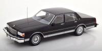 1:18 CHEVROLET Caprice 1987 Black