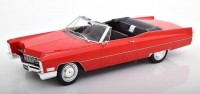 1:18 CADILLAC Deville Convertible 1968 Red