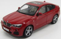 1:18 BMW X4 2015 (red)