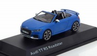 1:43 AUDI TT RS Roadster 2017 Ara Blue
