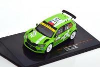 1:43 SKODA Fabia R5 EVO #23 J.Kopecky/J.Hlousek Rally Monza 2020
