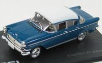 1:43 OPEL KAPITAN PI LIMOUSINE 1958-1959 Blue/White