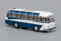 "1:43 ЛАЗ 697Е Турист ""эмблема Интурист"" (1961-1963), бело-синий"