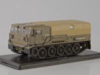 1:43 Артиллерийский гусеничный тягач АТС-59Г, хаки