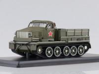 1:43 Тяжелый артиллерийский тягач АТ-Т, парадный