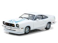 1:18 FORD Mustang II King Cobra 1978 White/Blue