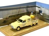 1:43 CITROEN Acadiane Pick-Up 6х2 бетономешалка 1970 Yellow