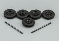 1:43 Набор колёсных дисков и покрышек Я-192 для УАЗ-450Д