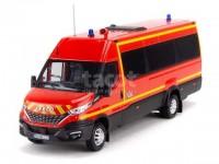 1:43 IVECO new DAILY 35-210 Van Hi-Matic Minibus Pompier SDIS 62 (пожарный) 2019