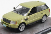 "1:43 RANGE ROVER Sport ""Casino Royale"" 2006 Metallic Gold"