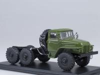 1:43 Уральский грузовик 375Д шасси (хаки)