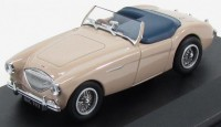 1:43 AUSTIN-HEALEY 100 BN1 1953 Tonneau Coronet Cream