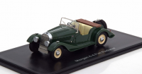 1:43 MORGAN 4/4 Flat Radiator S1 1936 Green