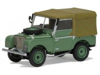"1:43 LAND ROVER Series 1 80"" Pick-Up 1948 Green/Olive"