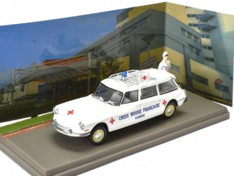 """1:43 CITROEN ID19 Break Ambulance """"Croix Rouge Francaise"""" 1967"""