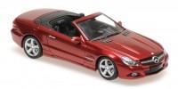 1:43 Mercedes-Benz SL-Class (R230) - 2008 (red metallic)