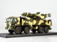 1:43 КАМский грузовик-6560 ЗРПК 96К6 (Панцирь-С1) камуфляж Пустыня