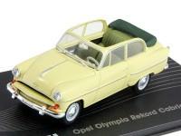 1:43 OPEL OLYMPIA REKORD Cabrio Limousine 1954-1956 Crème