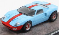 "1:43 FORD GT40 ""Die Another Day"" 2002 Light Blue/Orange"