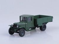 1:43 Уральский грузовик ЗИС 5 бортовой, т.зеленый