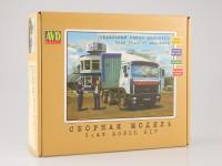 1:43 Сборная модель МАЗ-6422 седельный тягач
