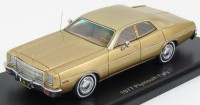 1:43 PLYMOUTH Fury 1977 Gold