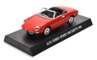 1:43 ALFA ROMEO Spider 1600 Duetto 1967 Red