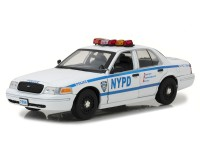 "1:18 FORD Crown Victoria Police Interceptor ""New York City Police Department"" (NYPD) Jamie Reagan's 2001  (из т/с ""Голубая кровь"")"