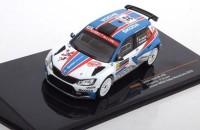 1:43 SKODA Fabia R5 #32 J.Kopecky/P.Dresler Winner WRC2 Rally Monte Carlo 2018