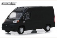 1:43 RAM ProMaster 2500 Cargo High Roof 2018 Brilliant Black