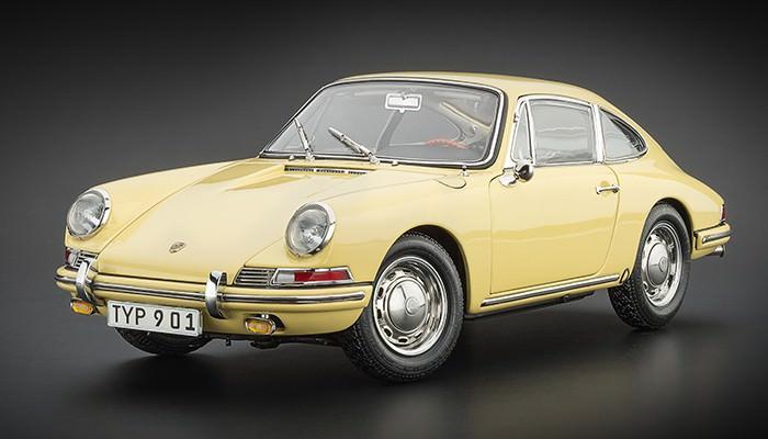 1:18 Porsche 901 (series-production) 1964, L.e. 5000 pcs. (champagne yellow)