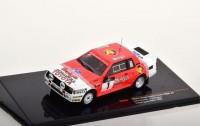 "1:43 TOYOTA Celica Twincam Turbo (TA64) #1 ""Belga"" Kankkunen/Gallagher Haspengouw Rally 1985"