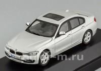 1:43 BMW 3er (F30) (silver)