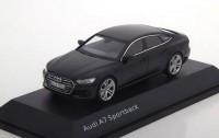 1:43 AUDI A7 Sportback 2017 Myth Black