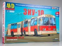 1:43 Сборная модель ЗиУ-10 (ЗиУ-683) троллейбус