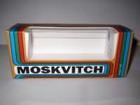 1:43 Коробка для моделей Москвич (радуга)