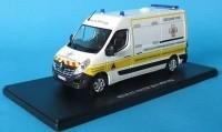 """1:43 RENAULT Master """"Sicurite Civile Vehicule De Premiers Secours"""" VPSP FFSS (Французская федерация первой помощи) 2014"""