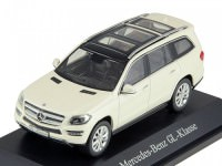 1:43 MERCEDES-BENZ GL500 (Х166) 2012 Metallic White