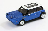 1:43 MINI COOPER S Yatchsman 2002 Blue/White