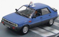 "1:43 RENAULT 11 Taxi ""A View to a Kill"" 1985 Blue"