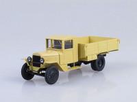 1:43 Уральский грузовик ЗИС 5 бортовой, бежевый