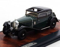 1:43 Bentley 8 Litre Mayfair Close Coupe Saloon #YX5124 1932 Green/Black