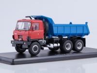 1:43 Tatra-815S1 самосвал (красный-синий)