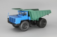1:43 БелАЗ-548 самосвал, синий / зеленый