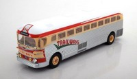 "1:43 автобус GMC PD-3751 ""Trailways"" 1949 Silver/Beige/Red"